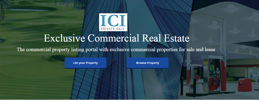 """iciPivateSale.com - Commission """"FREE"""" Commercial Real Estate"""